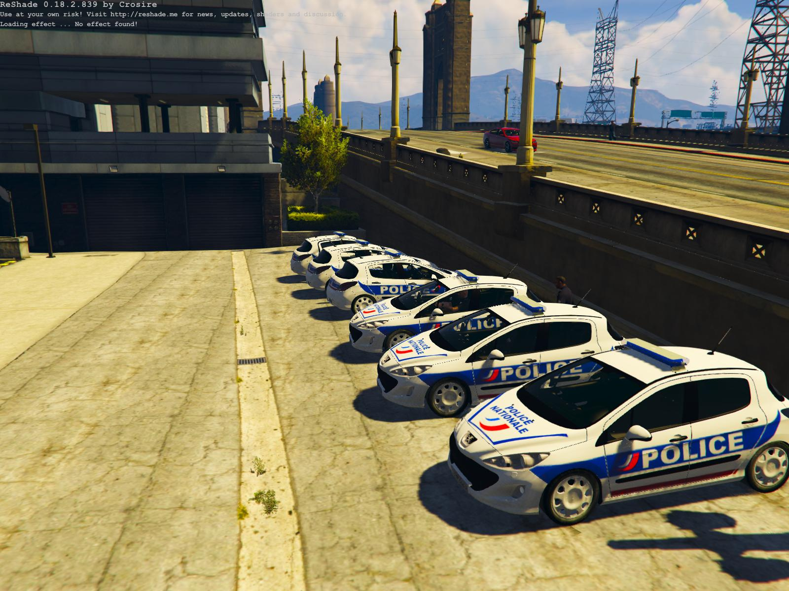 peugeot 308 police nationale gta5. Black Bedroom Furniture Sets. Home Design Ideas