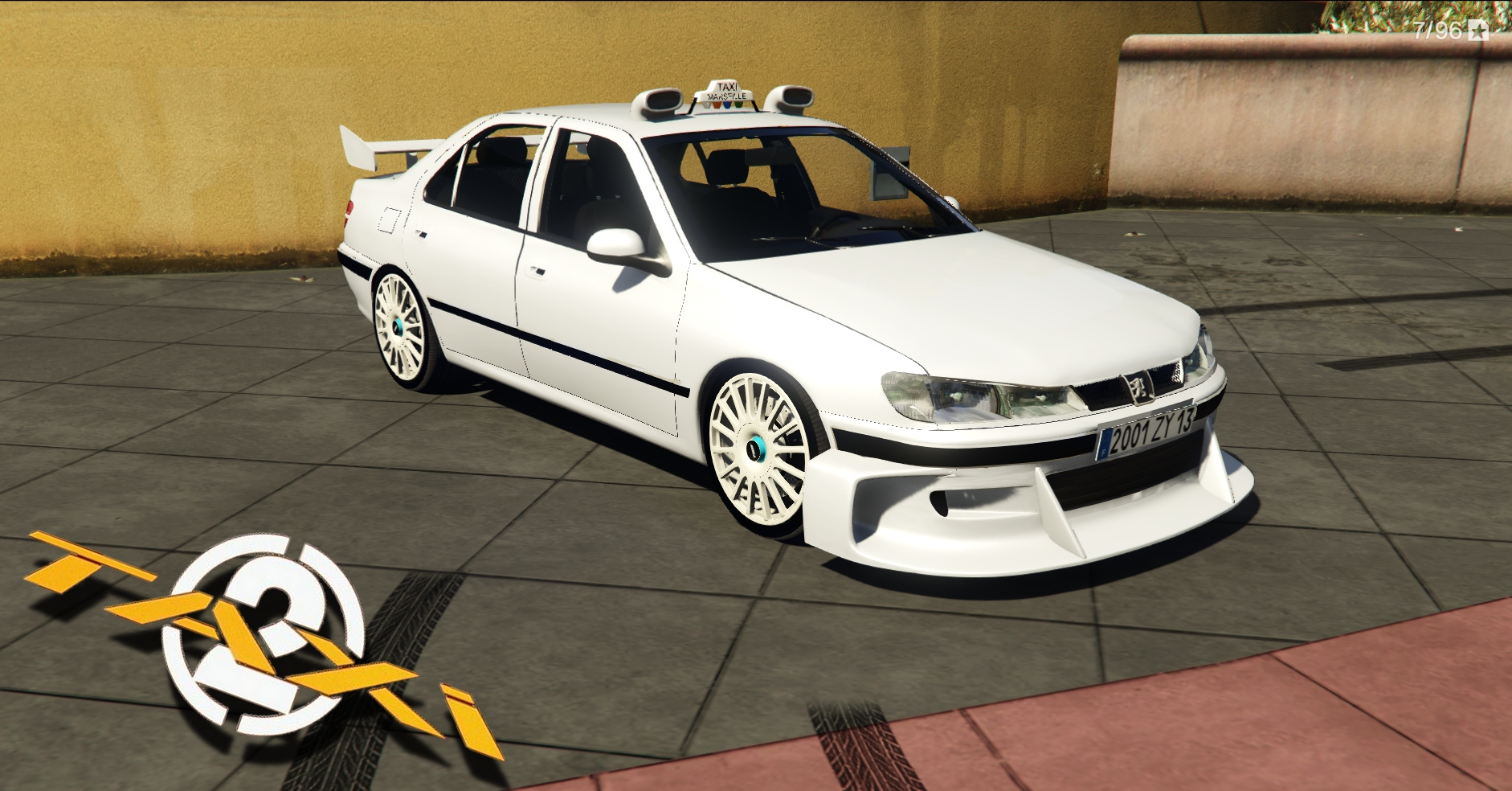 peugeot 406 taxi 2 add on dials tuning gta5. Black Bedroom Furniture Sets. Home Design Ideas