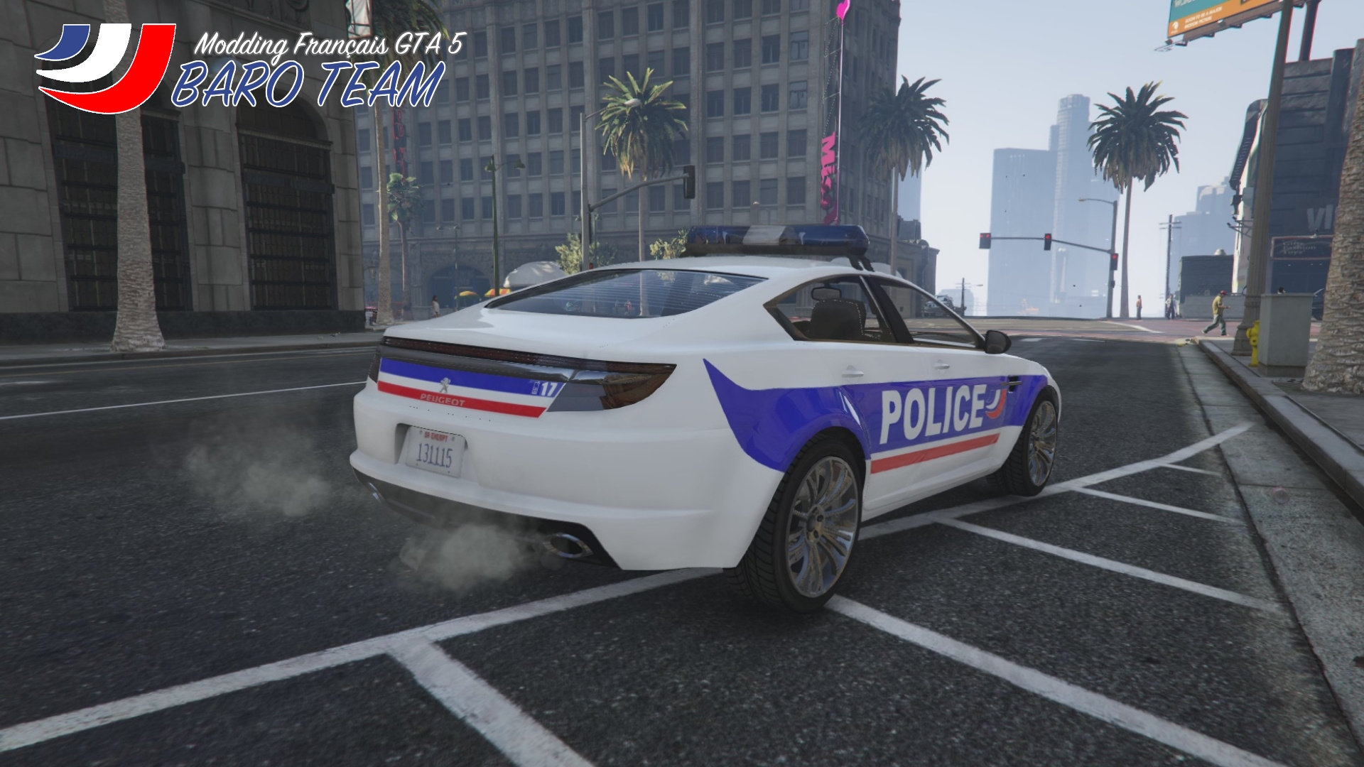 peugeot jackal police nationale gta5. Black Bedroom Furniture Sets. Home Design Ideas