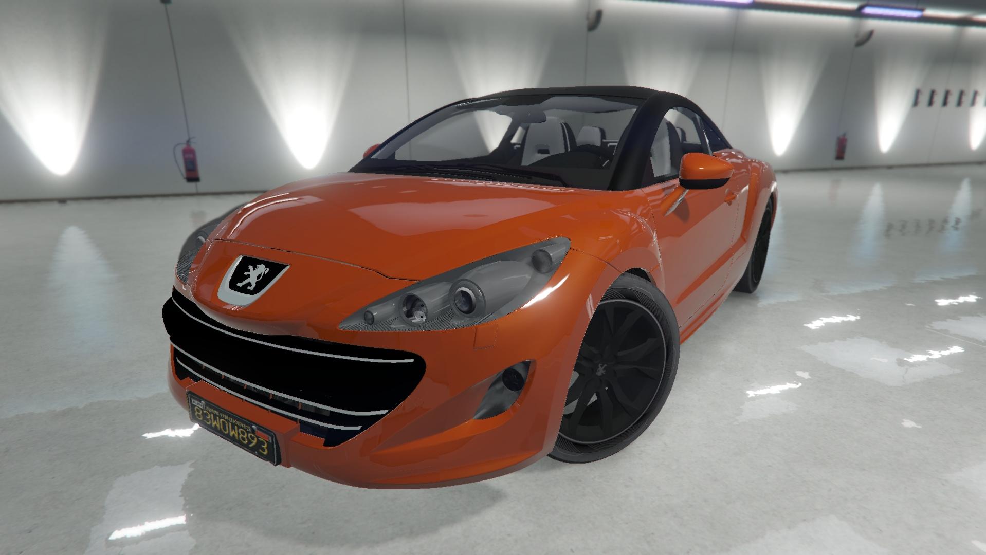 2010 Peugeot Rcz Gta5 Mods Com