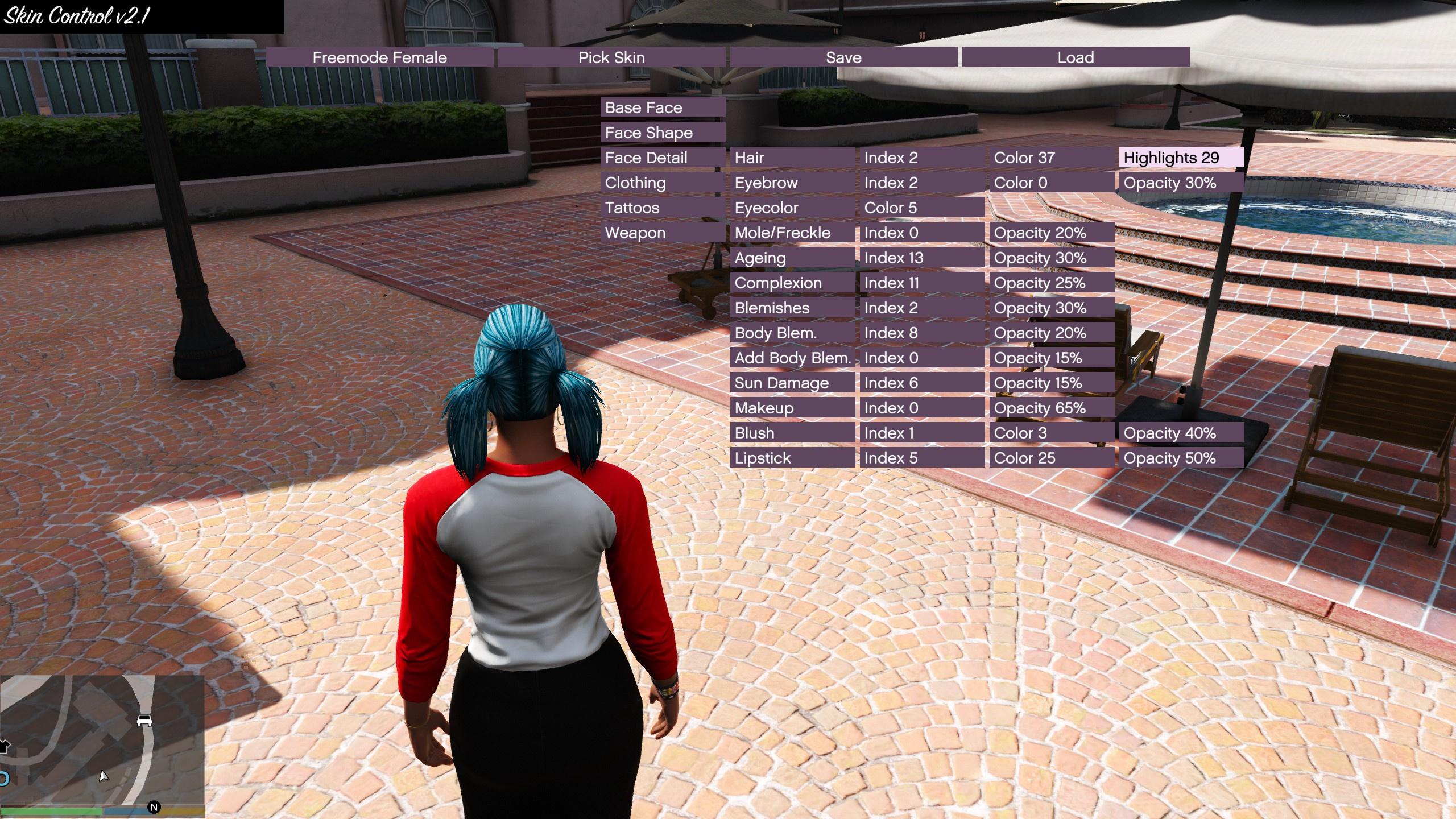 Nivinha Thicc Mod Expansion (MP Female) - GTA5-Mods.com