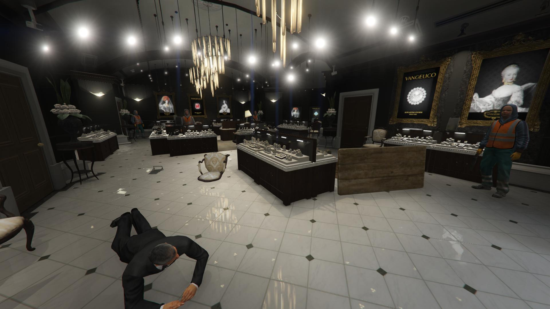 jewelry store robbery playable gta5
