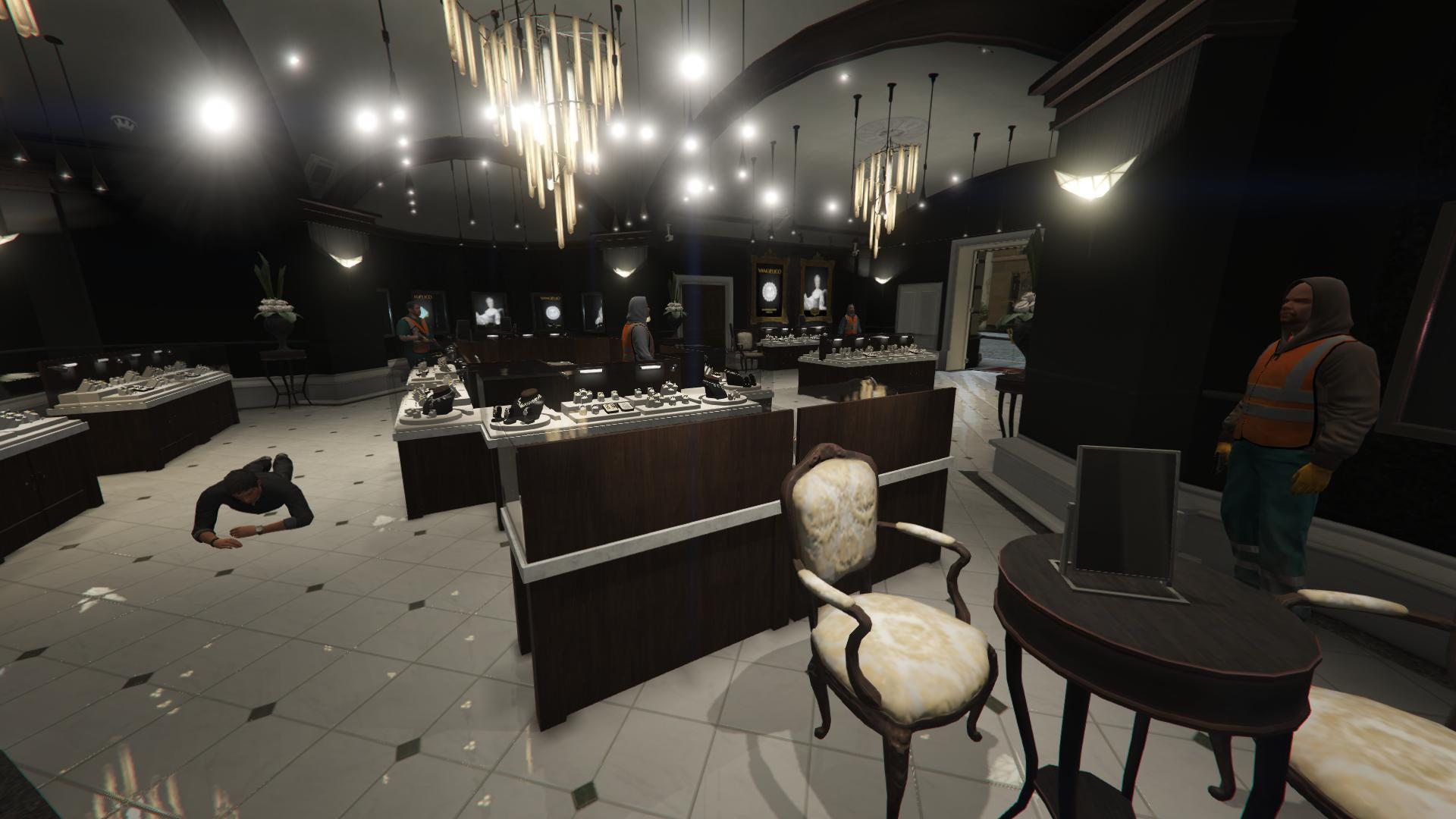 jewelry store robbery playable gta5 mods