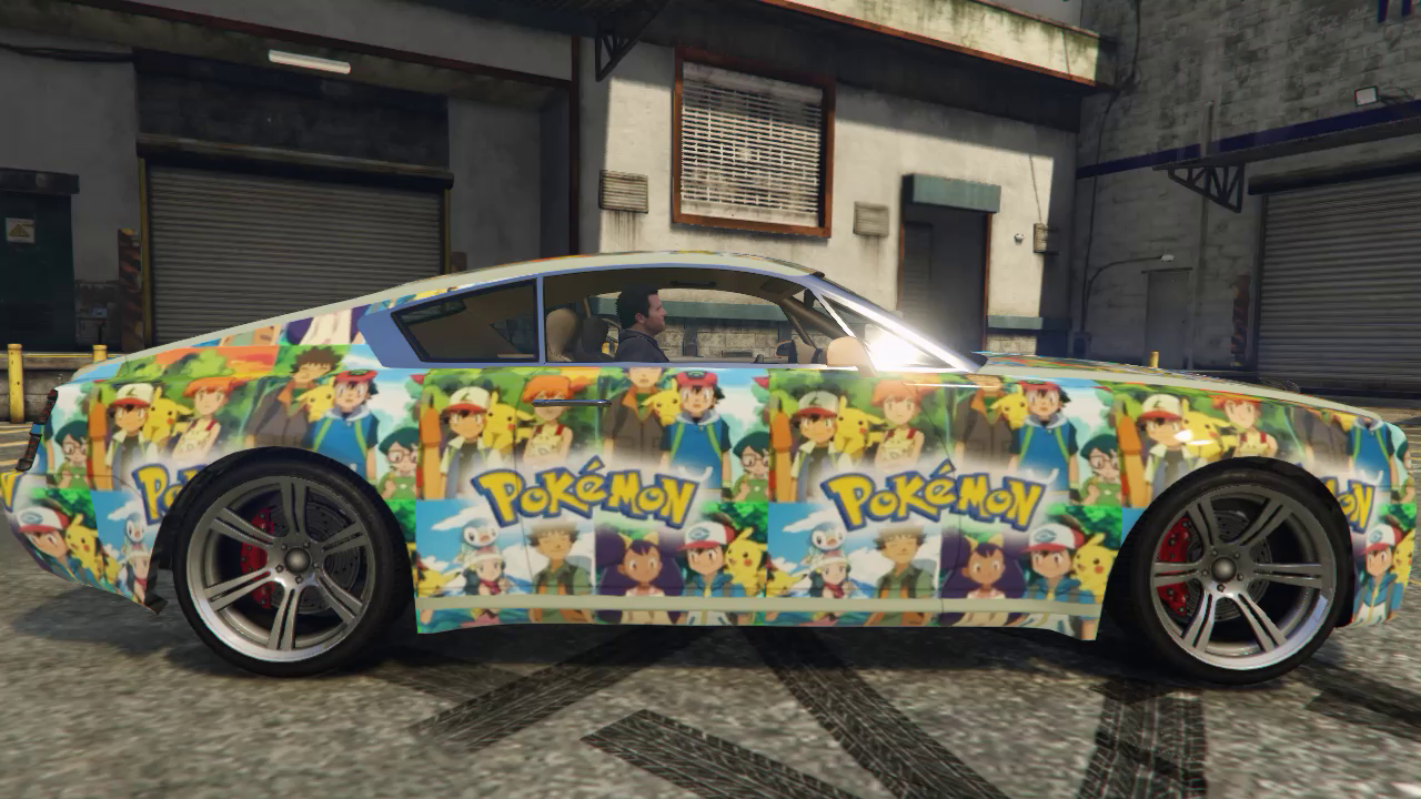 Pokemon Car Texture Pack