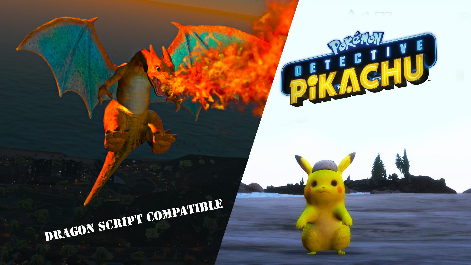 Charizard Detective Pikachu Gta5 Mods Com