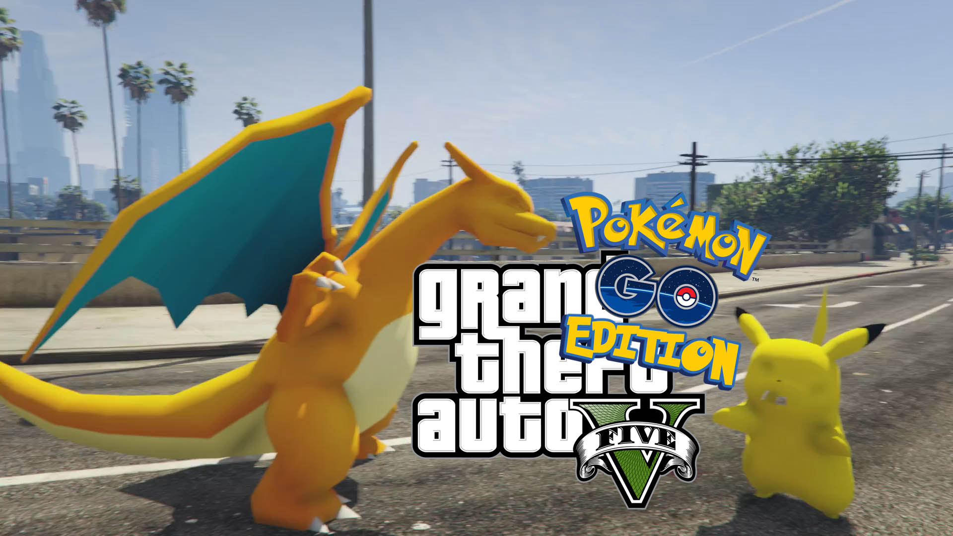Pokémon Go GTA Edition - GTA5-Mods com