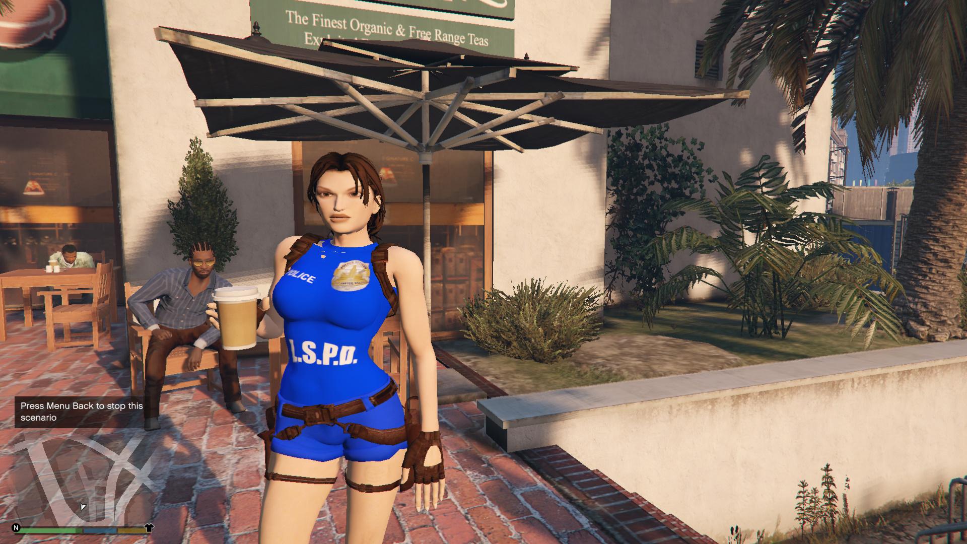 Skin Lara Croft Tomb Raider 9 for GTA San Andreas