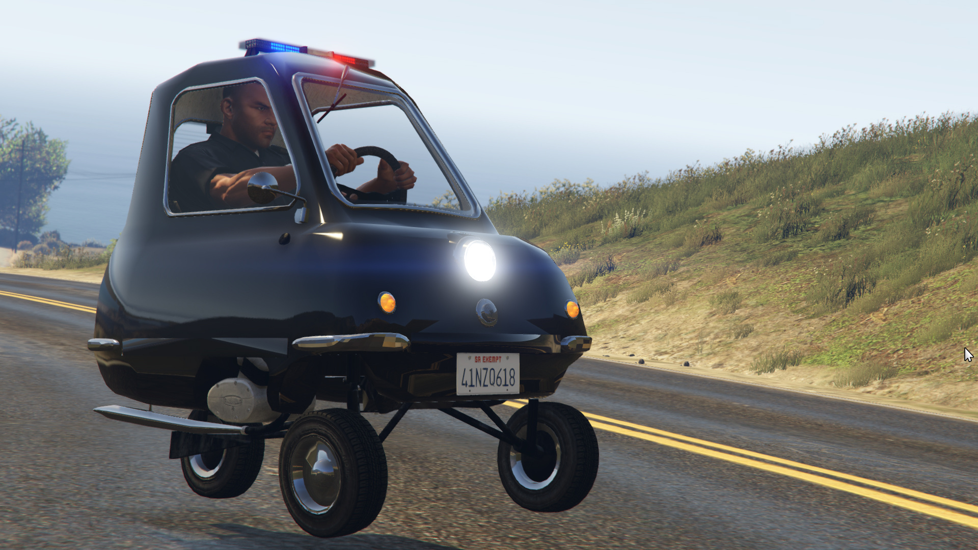 police peel p50 gta5. Black Bedroom Furniture Sets. Home Design Ideas