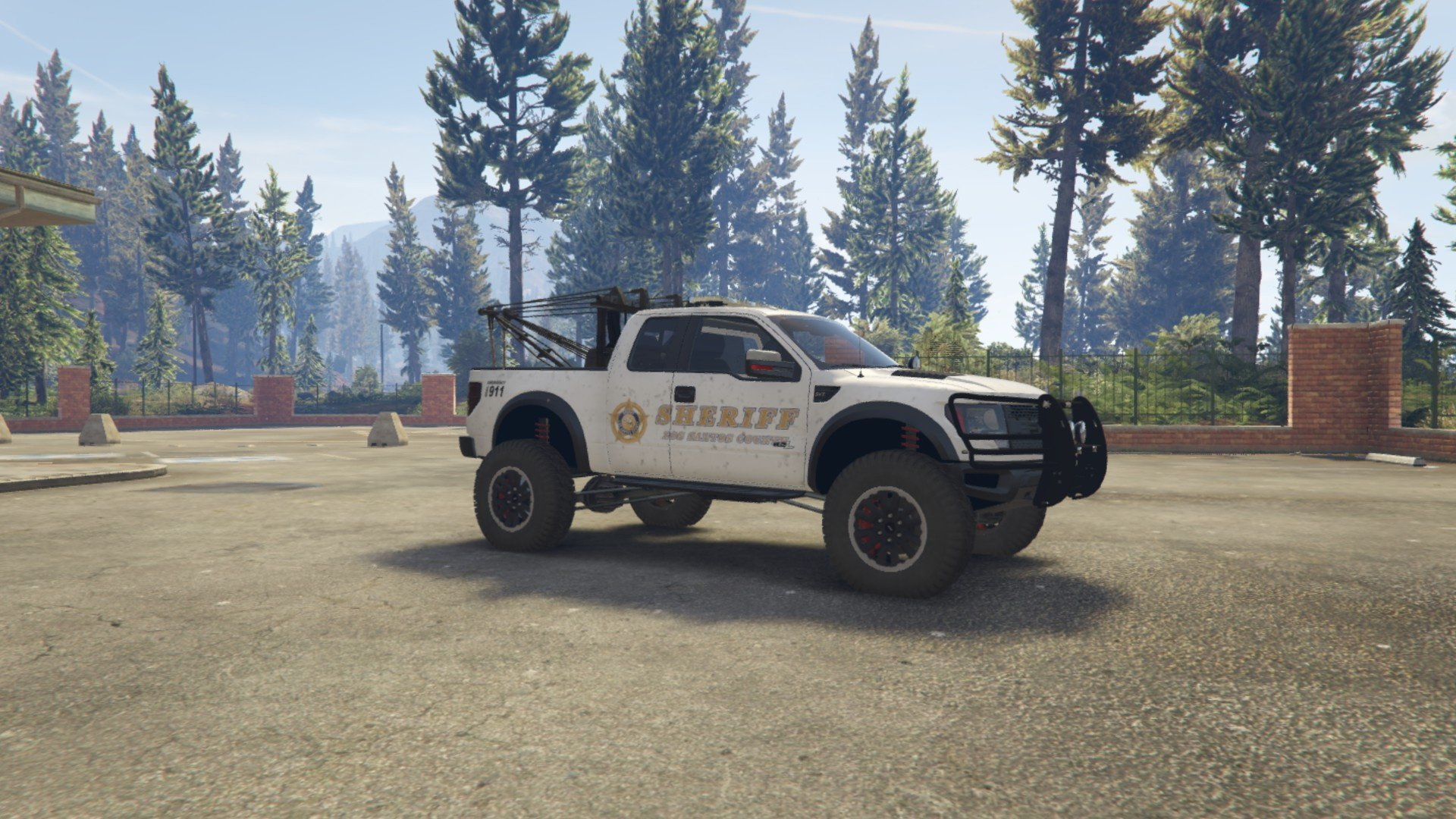 Police Raptor Lifted Towtruck ADD-ON version - GTA5-Mods.com