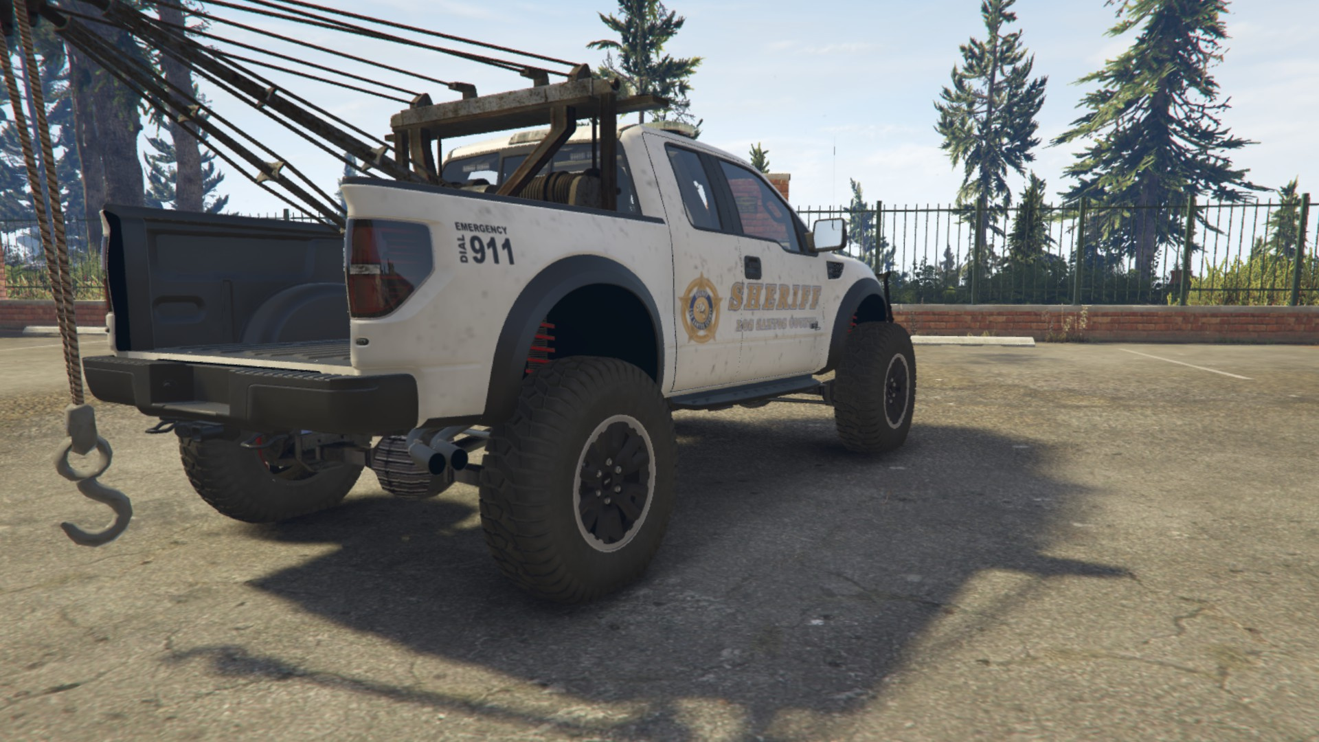 Police Raptor Lifted Towtruck - GTA5-Mods.com
