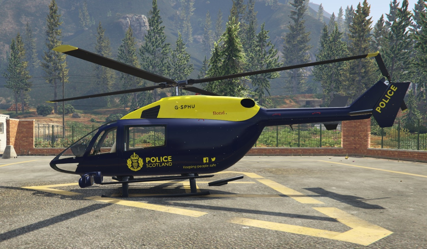 Police Scotland Helicopter Gta5 Mods Com