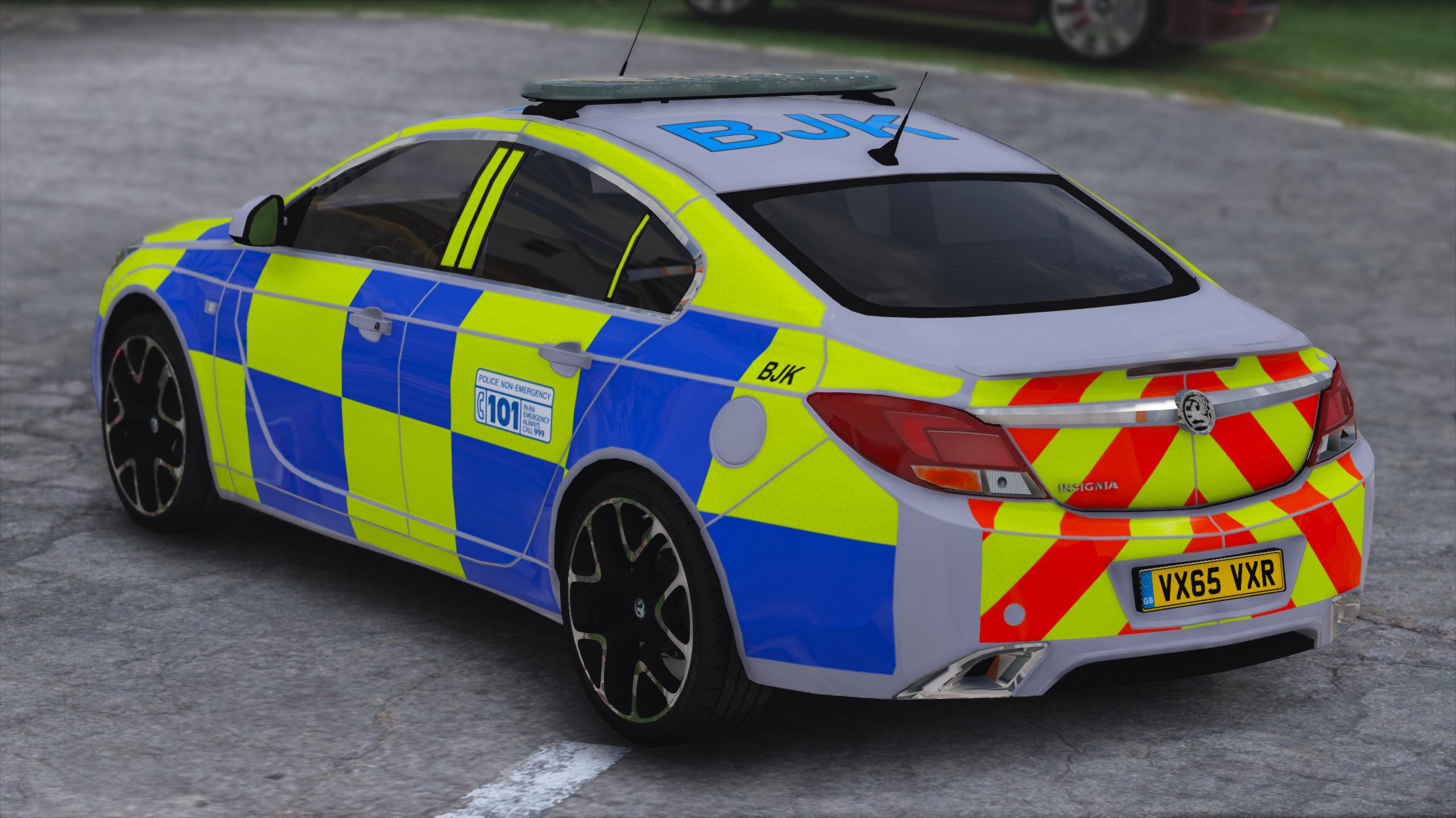 Police Vauxhall Insignia Vxr Gta5 Mods Com