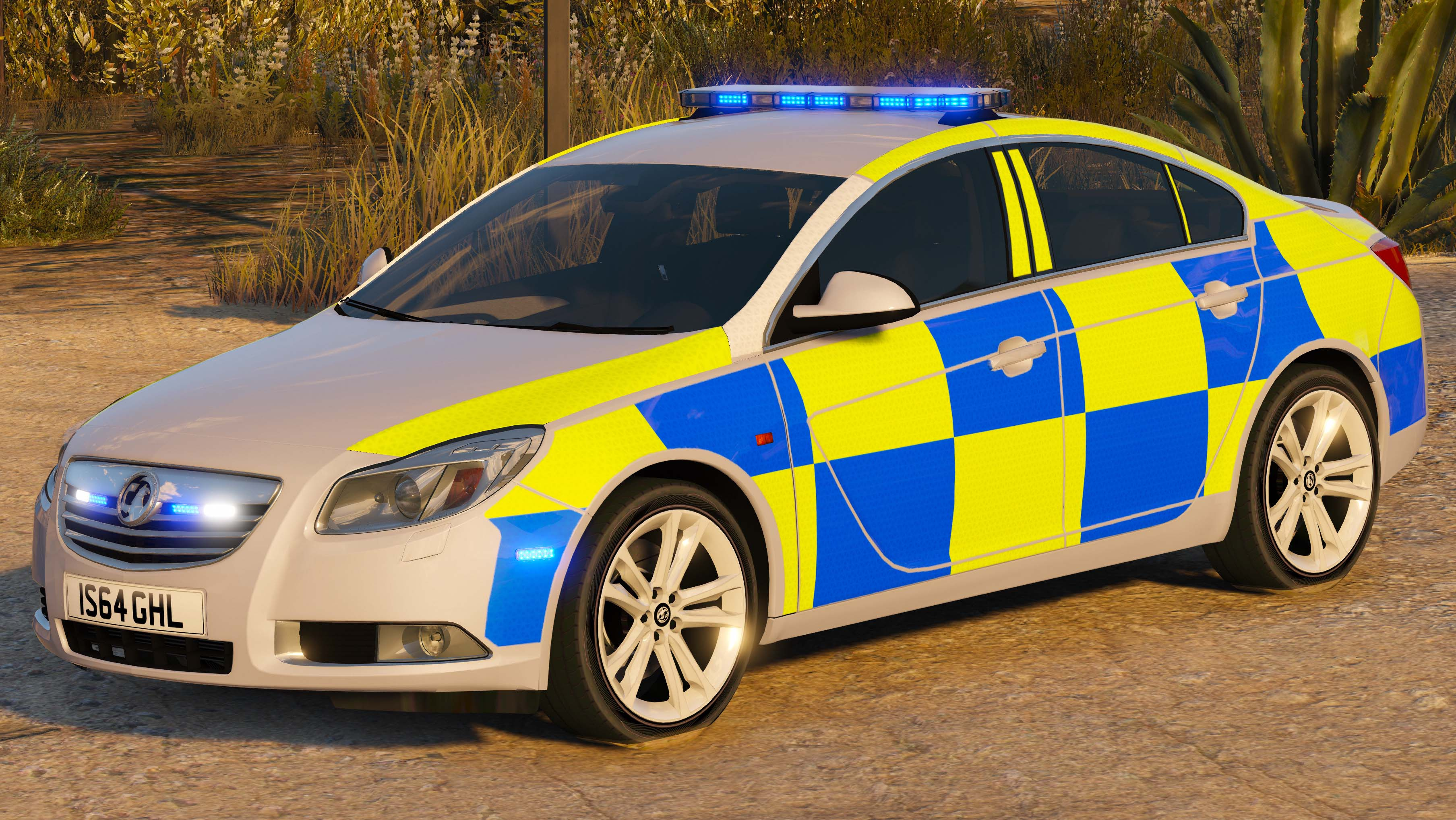 police vauxhall insignia - gta5-mods