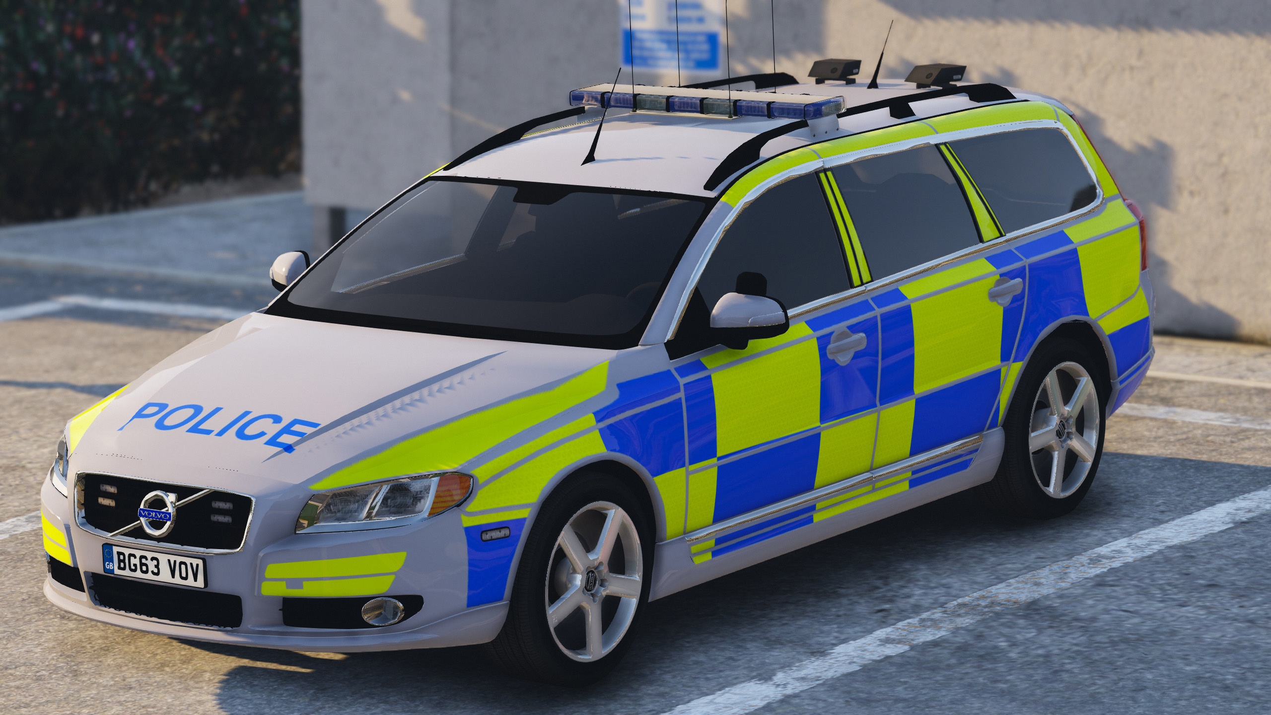 Police Volvo V70 Gta5 Mods Com