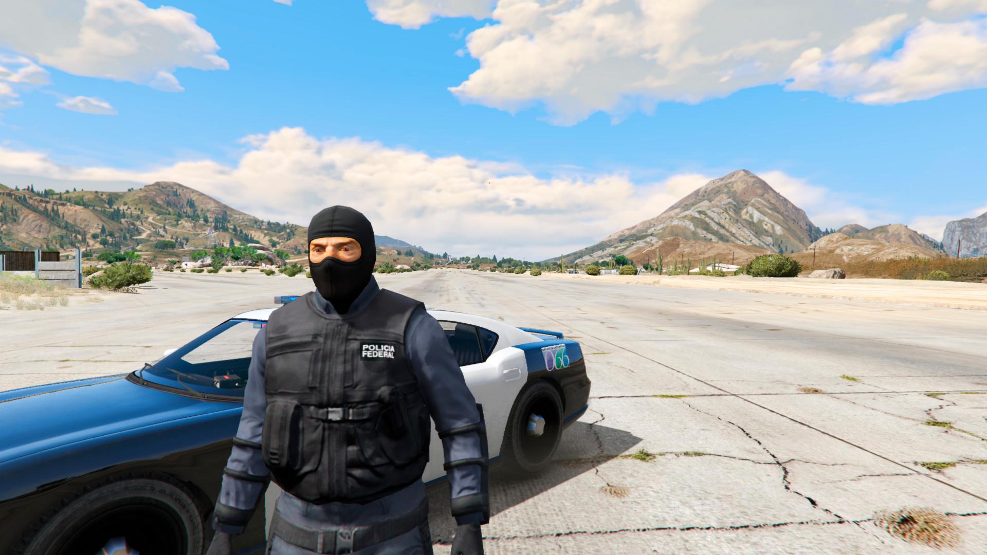 Mexico Federal Police (Policia Federal México) - GTA5-Mods.com