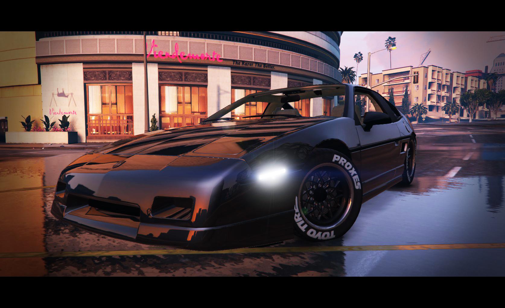 1985 Pontiac Fiero Gt G97 Gta5 Mods Com