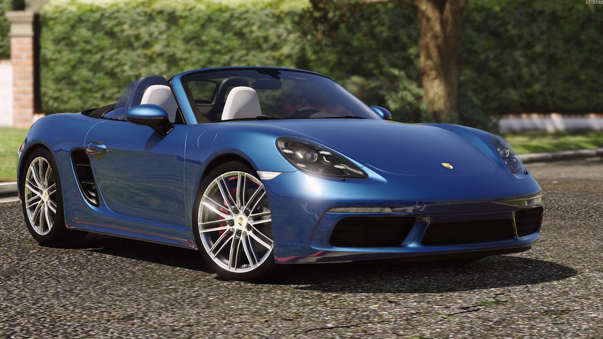 porsche 718 boxster s add on replace gta5. Black Bedroom Furniture Sets. Home Design Ideas
