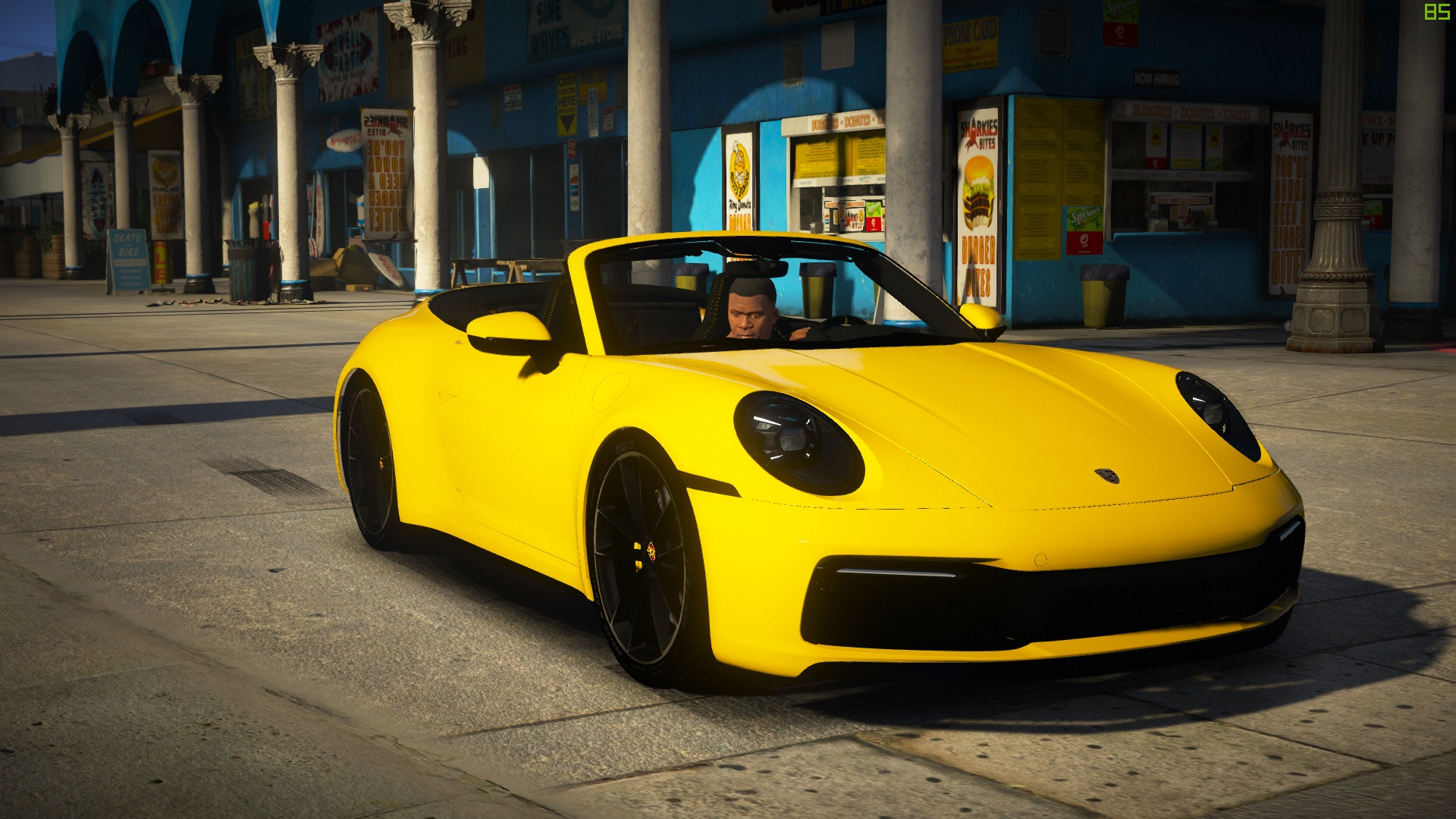 2020 Porsche 911 Carrera S Cabriolet Add On 992 Extras Gta5 Mods Com