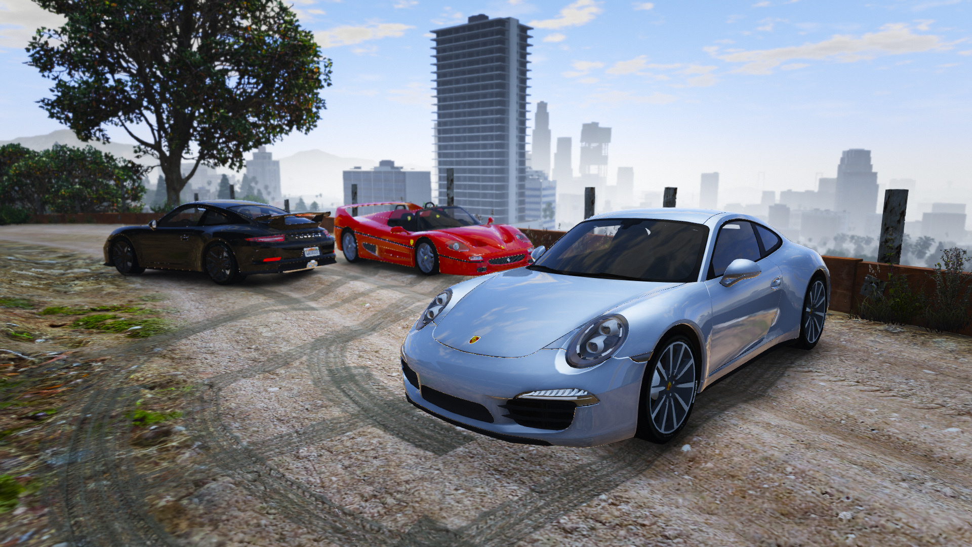 porsche 911 carrera s add on replace gta5 mods
