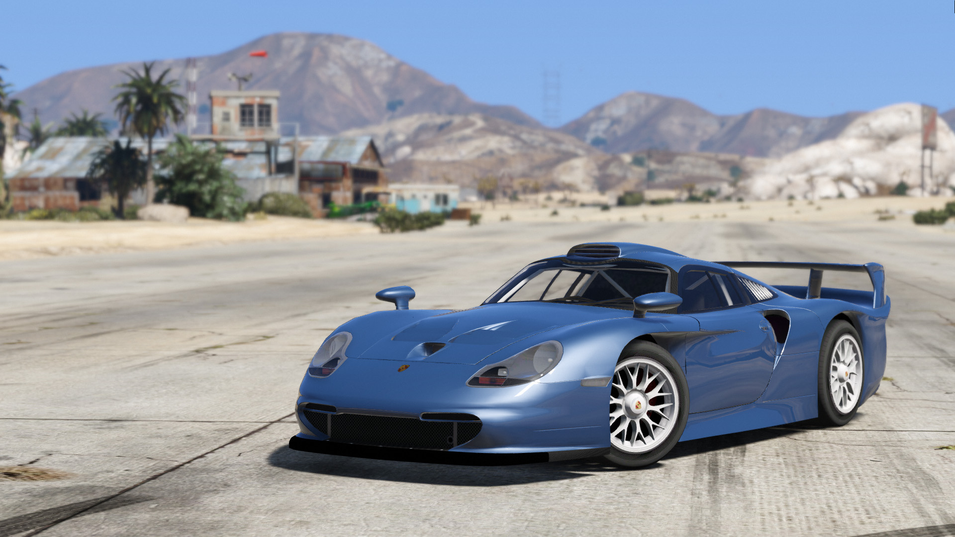 porsche 911 gt1 stra enversion add on gta5. Black Bedroom Furniture Sets. Home Design Ideas