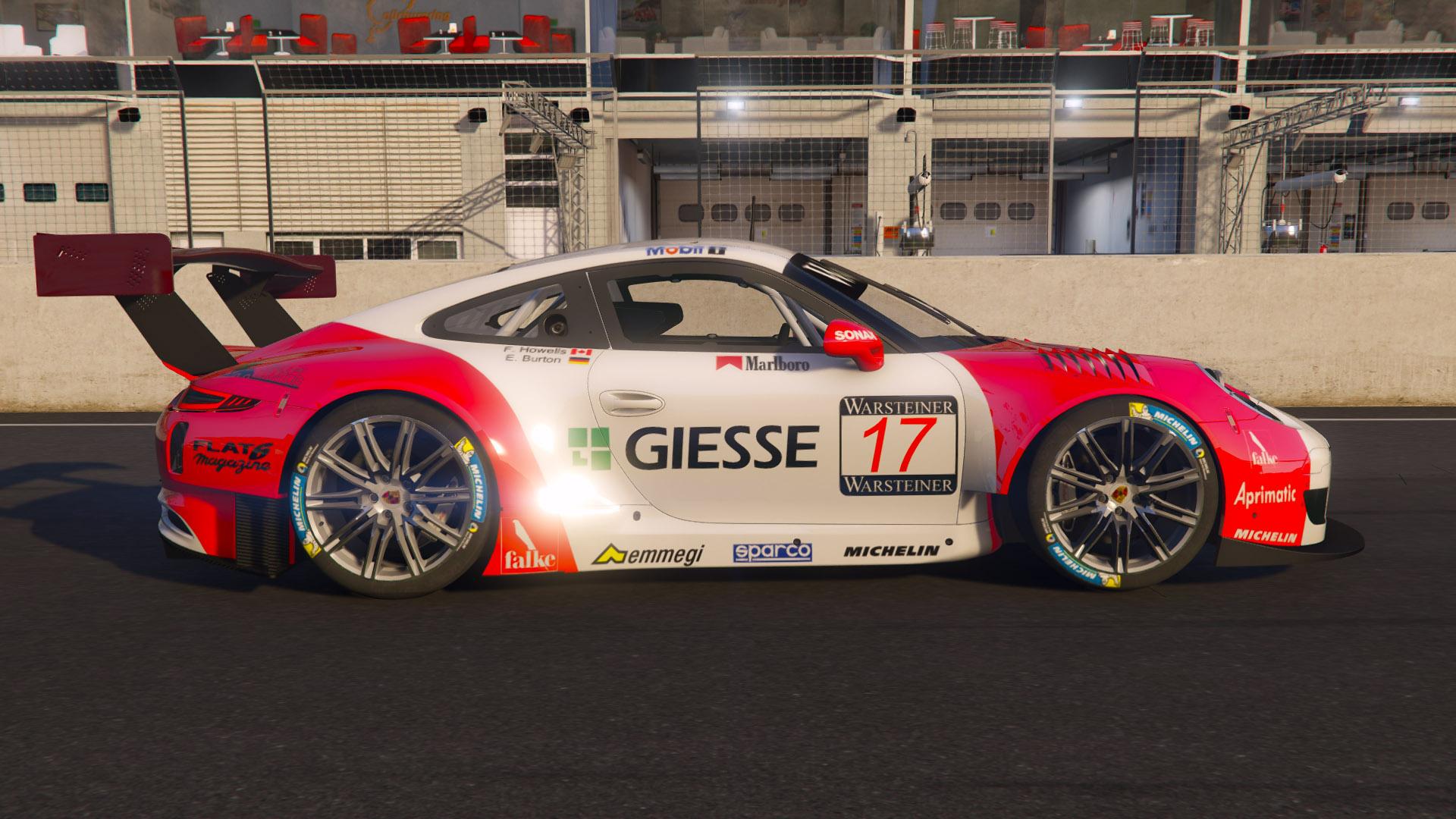 Porsche 911 Gt3 R  Marlboro Livery