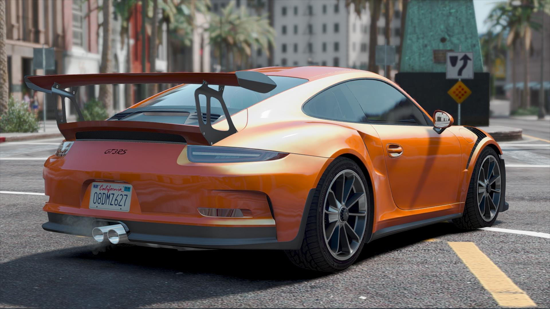 porsche 911 gt3 rs 39 16 add on replace gta5. Black Bedroom Furniture Sets. Home Design Ideas