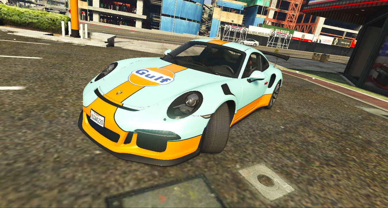Porsche 911 R Gulf Racing - GTA5-Mods.com on porsche coloring pages, porsche and bugatti race, audi r8 race car template, dirt modified race car template, orange race car template, porsche boxster race car, dodge challenger race car template,