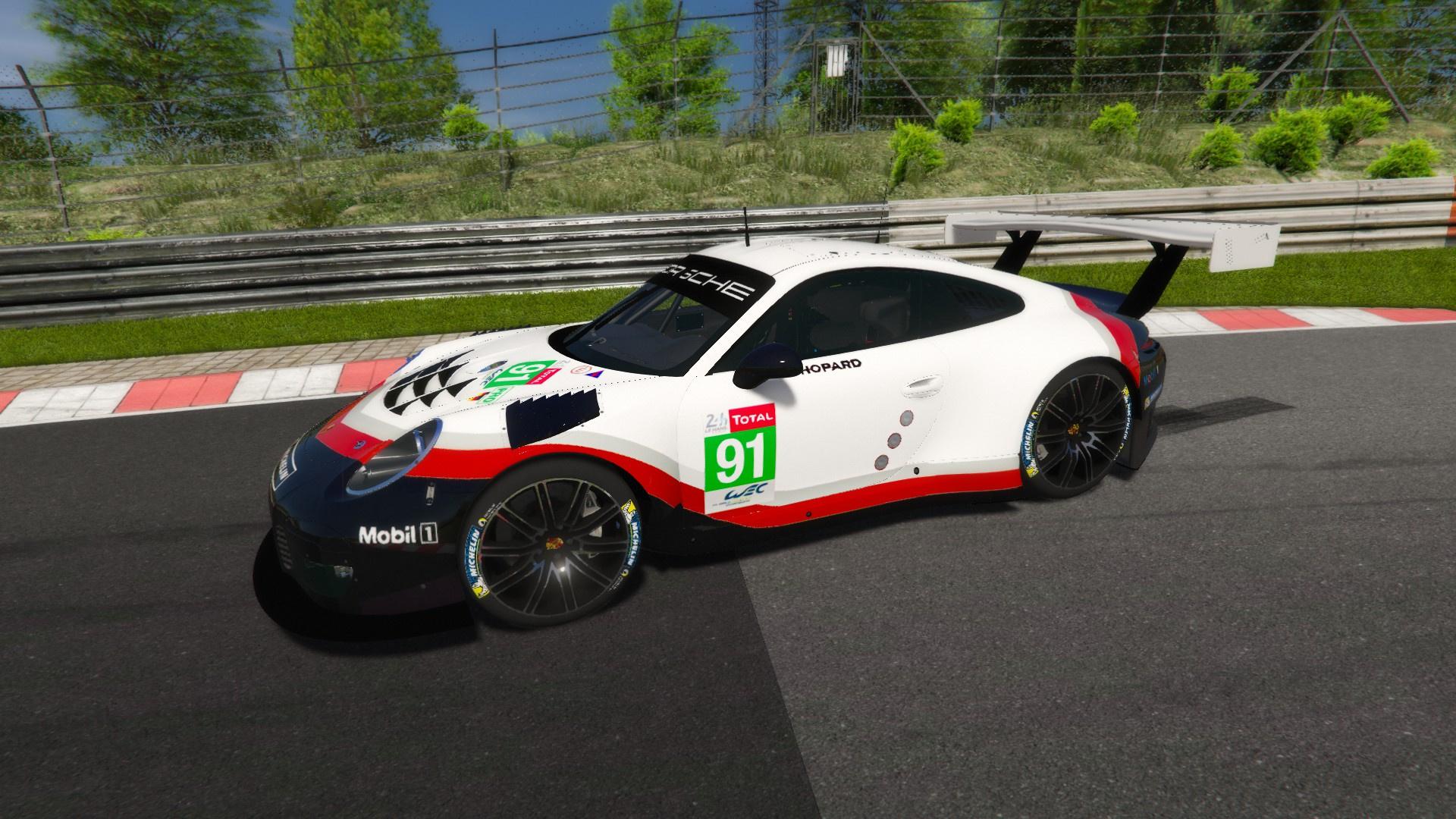 Porsche 911 Rsr Liveries For Porsche 911 Gt3 R Gta5 Mods Com