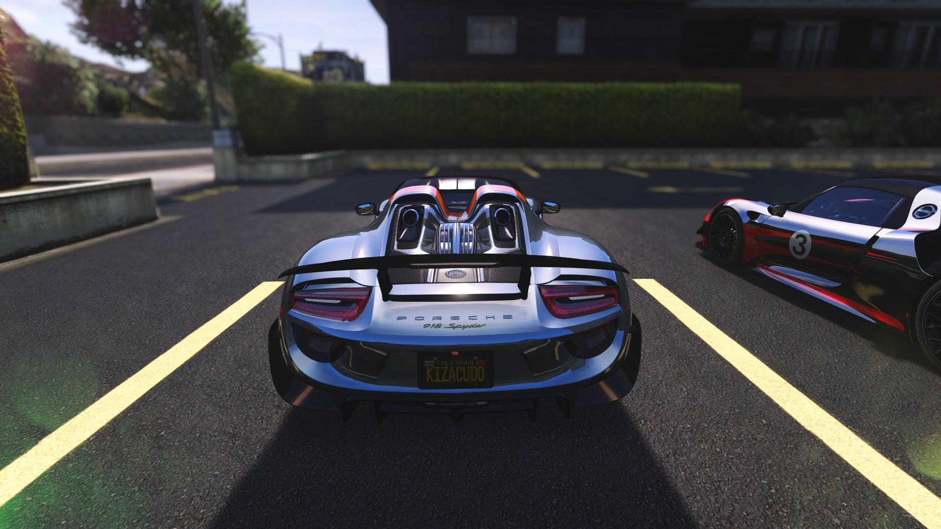 5ae2a2-GTA5%202017-07-04%2023-18-28 Stunning Porsche 918 Spyder Paint Job Cars Trend