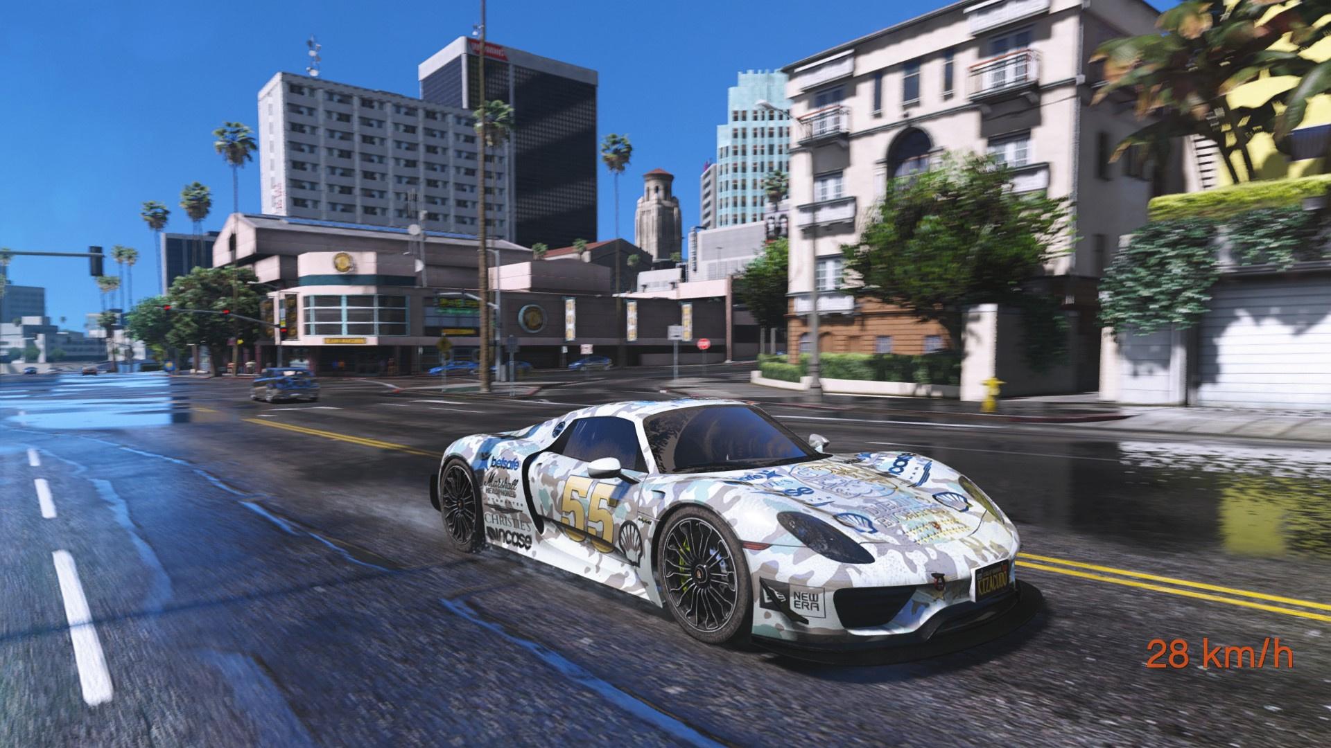 5ae2a2-GTA5%202017-07-05%2021-41-23 Stunning Porsche 918 Spyder Paint Job Cars Trend