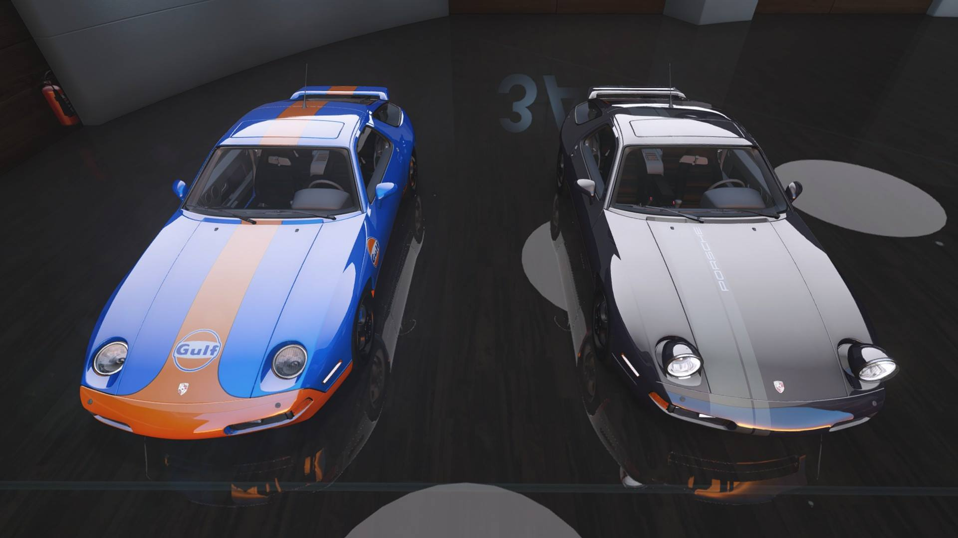 Porsche 928 Gts Pop Up Lights Add On Tuning Template