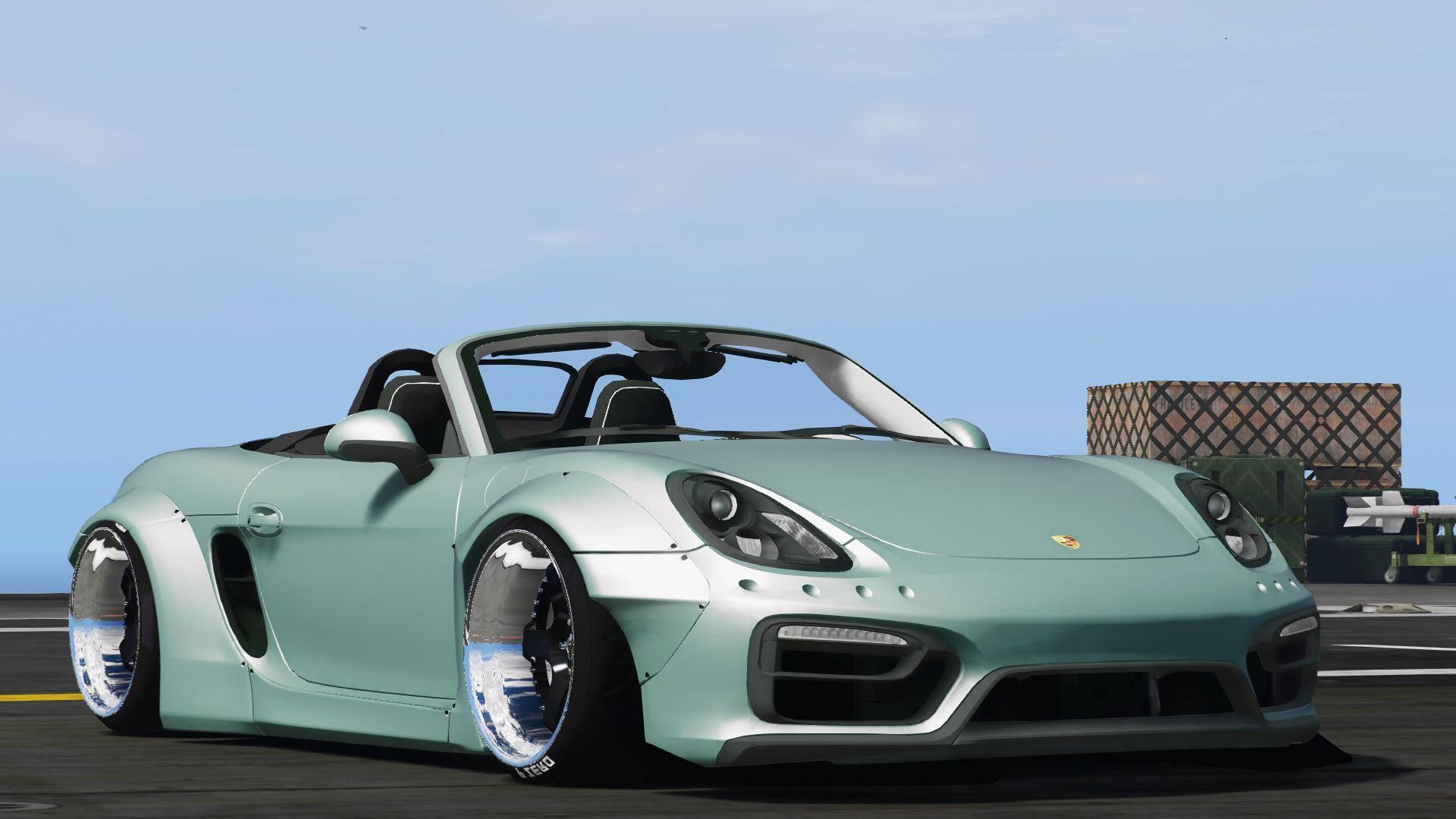 Porsche Boxster Liberty Walk Gta5 Mods Com
