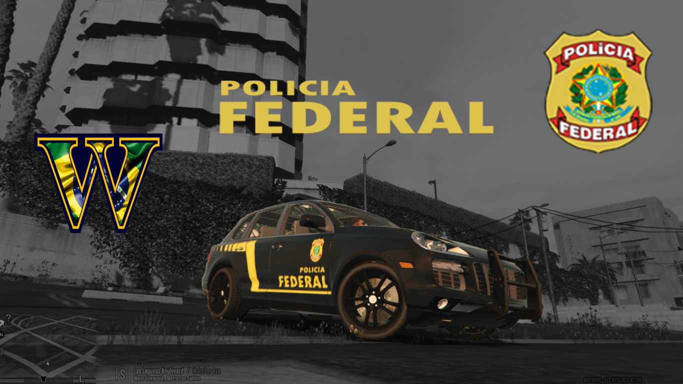 Porsche Cayenne Polícia Federal PF - GTA5-Mods.com