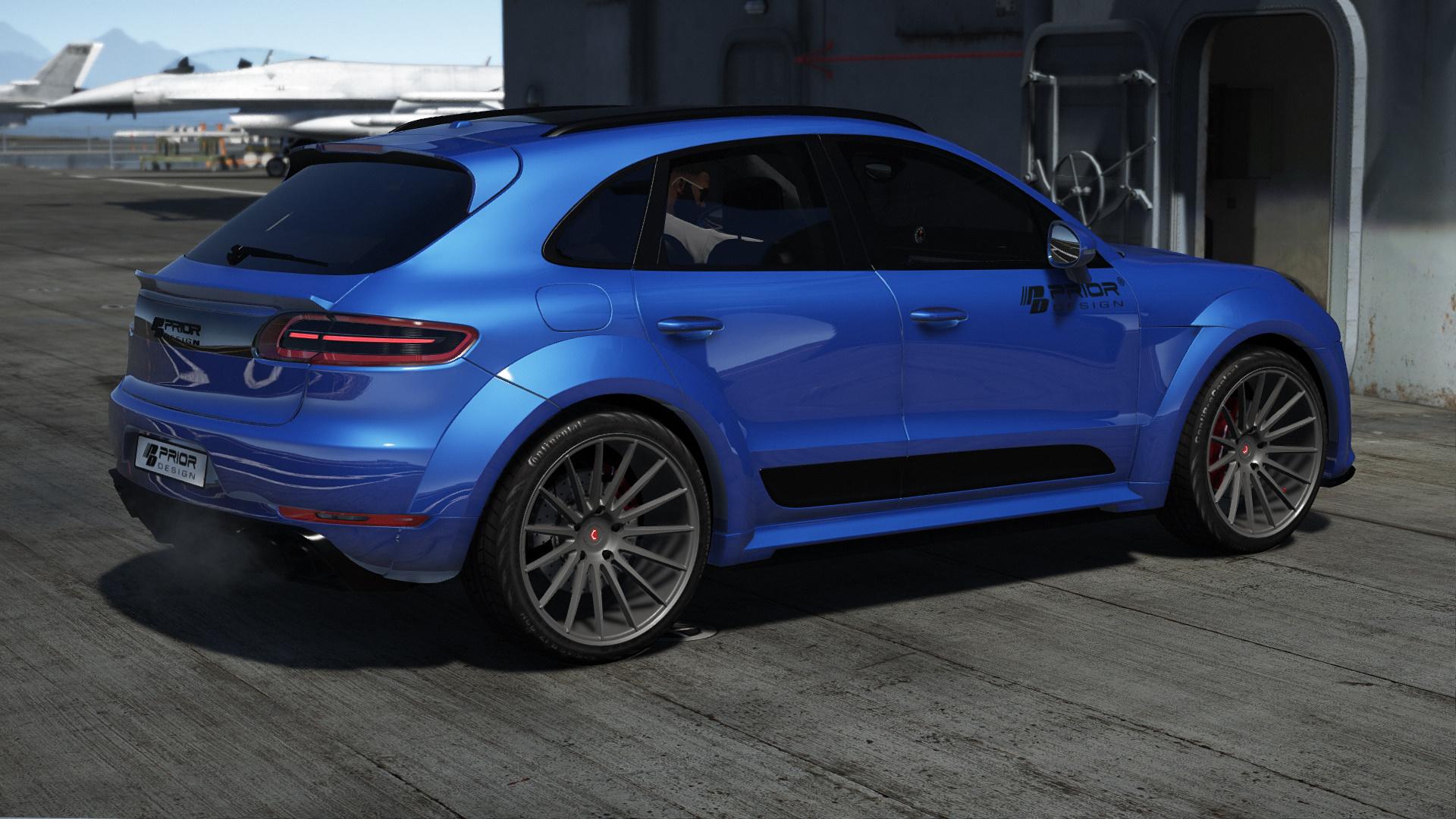 Porsche Macan Forum >> Porsche Macan Prior Design.[Addon] - GTA5-Mods.com