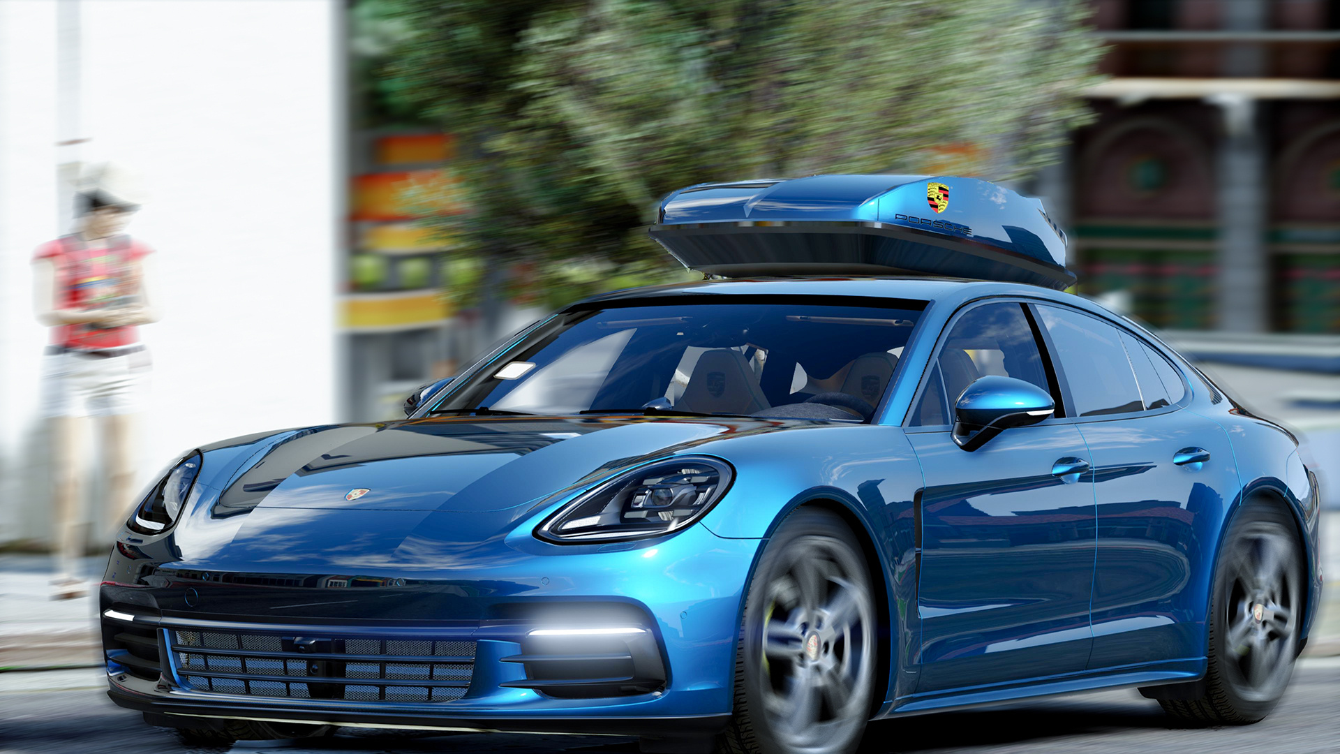 Porsche Panamera 2017 Add On Replace Gta5 Mods Com