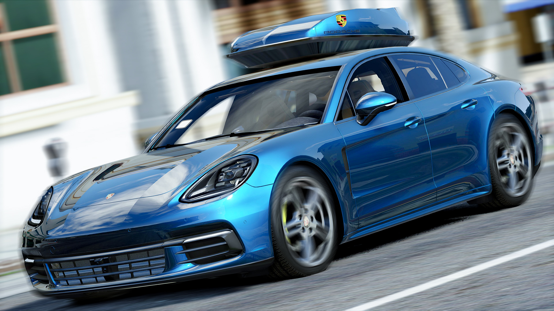 Porsche Panamera 2017 Add On Replace Gta5 Mods Com