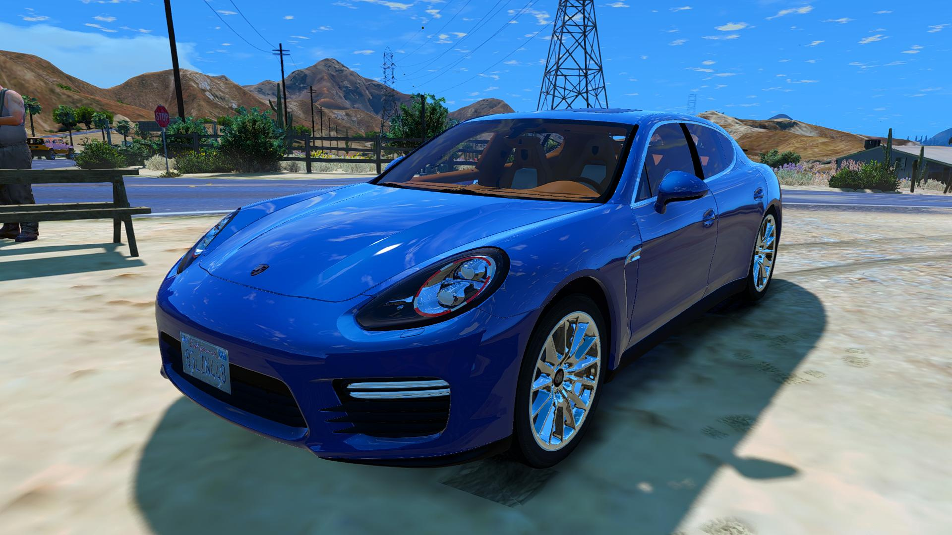 porsche panamera gts add on replace gta5. Black Bedroom Furniture Sets. Home Design Ideas