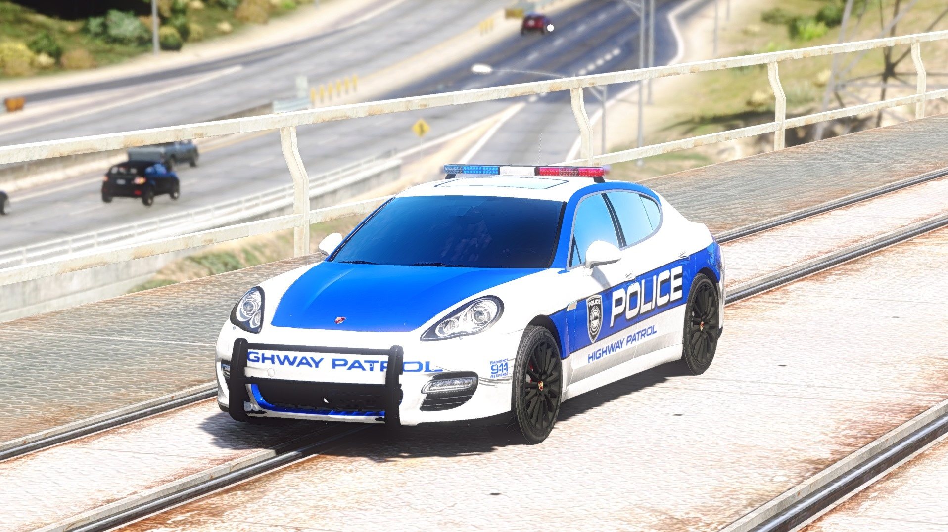 porsche panamera turbo need for speed hot pursuit police car gta5. Black Bedroom Furniture Sets. Home Design Ideas