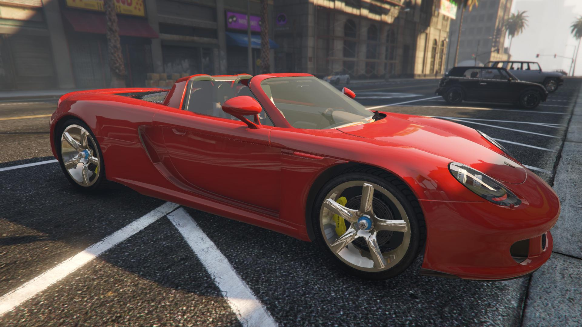 porsche carrera gt add on replace gta5. Black Bedroom Furniture Sets. Home Design Ideas