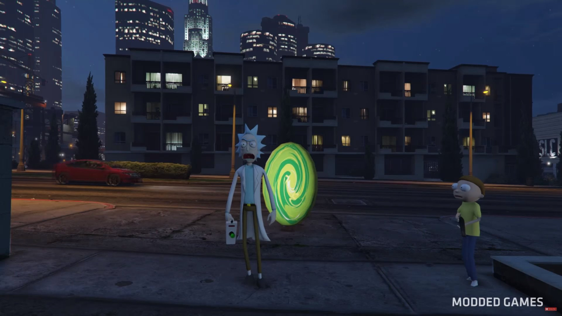 portal gun script rick and morty gta5