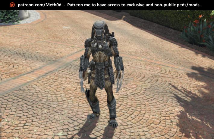 Predator [Add-On Ped] - GTA5-Mods com