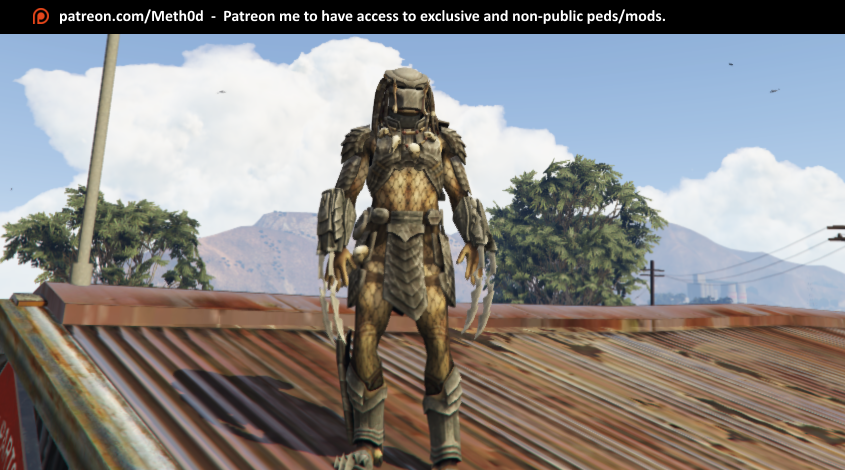 Predator [Add-On Ped] - GTA5-Mods com