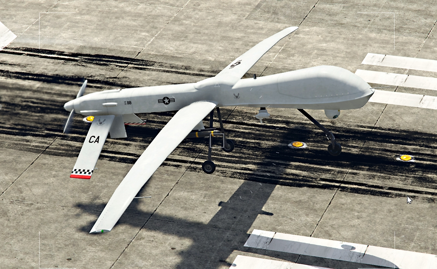 Predator MQ-1 Drone [Add-On] - GTA5-Mods com