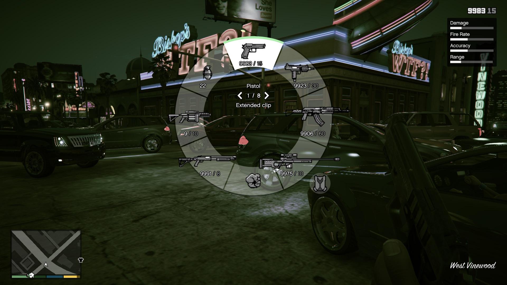 Gta 5 change weapon slot