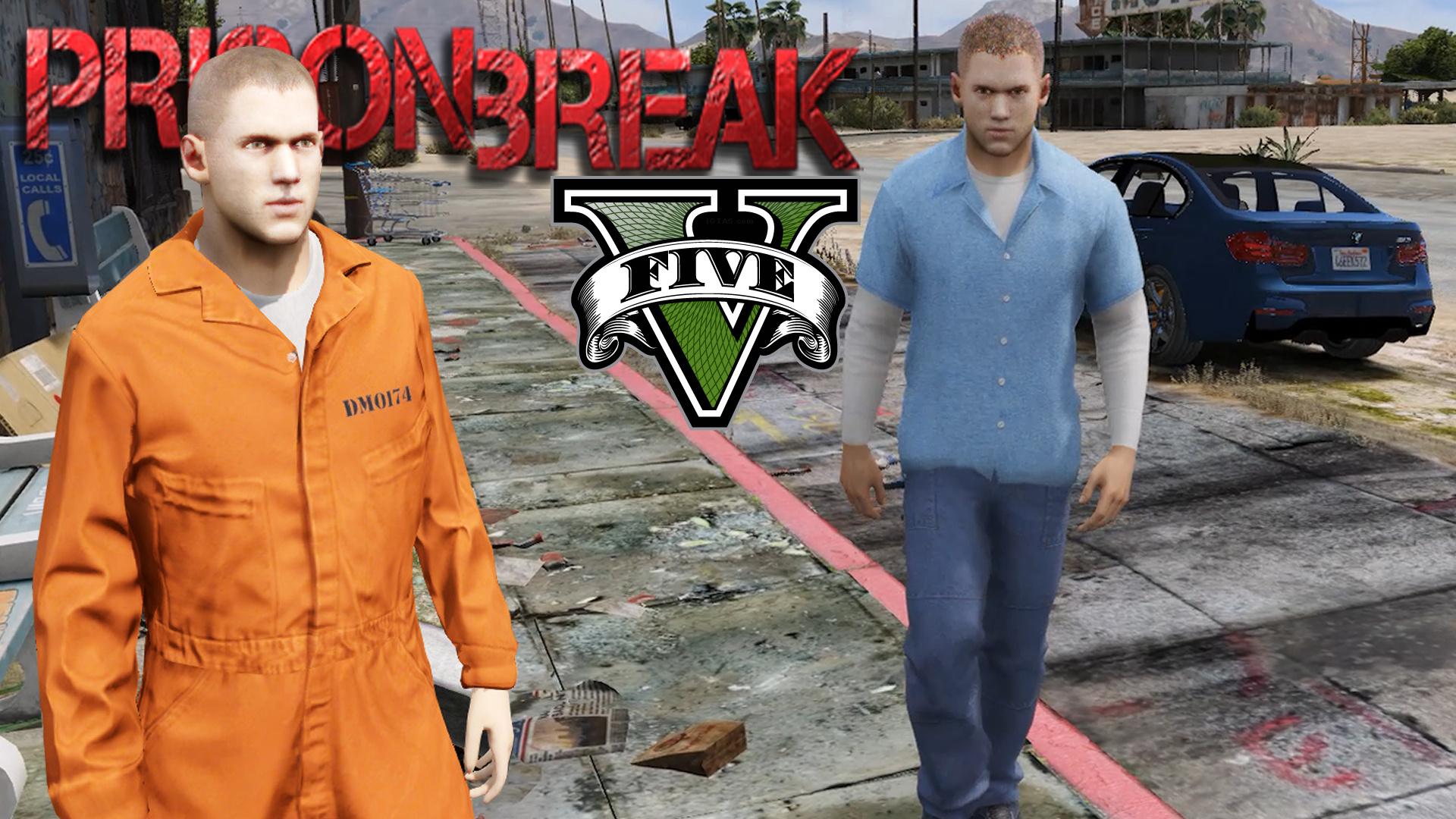 Prison Break Michael Scofield Add On Ped Gta5 Mods Com