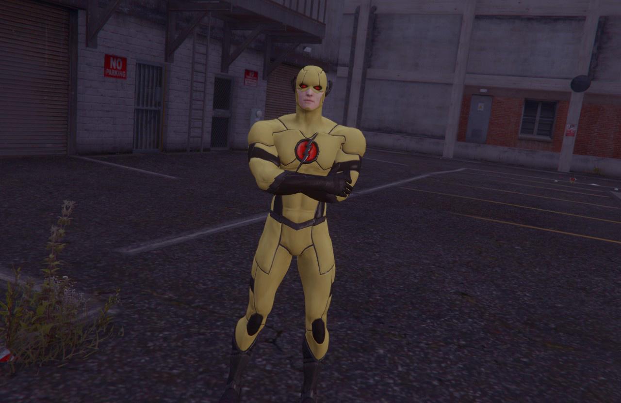 Professor Zoom Black Racer Prime Earth Gta5 Mods Com