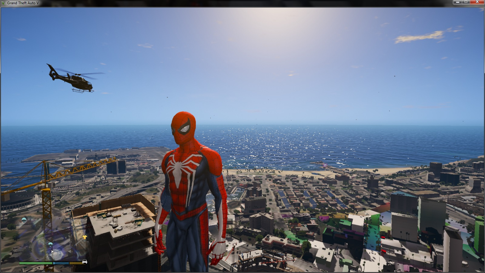 Spiderman PS4 4k - GTA5-Mods com