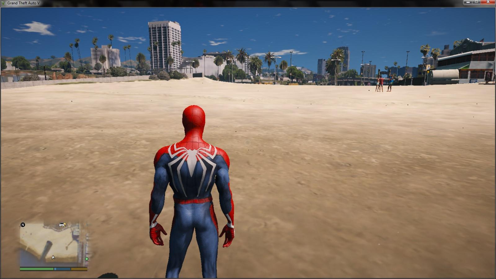 Spiderman PS4 4k - GTA5-Mods com