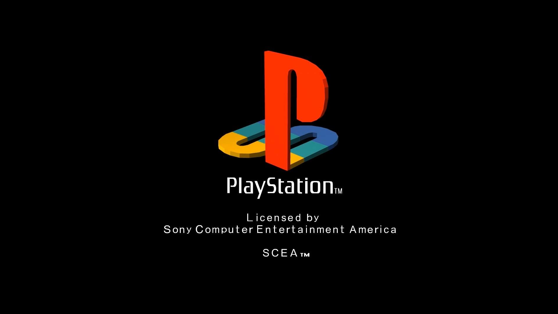 sony playstation 2 logo. psx intro (rockstar logo replace) sony playstation 2