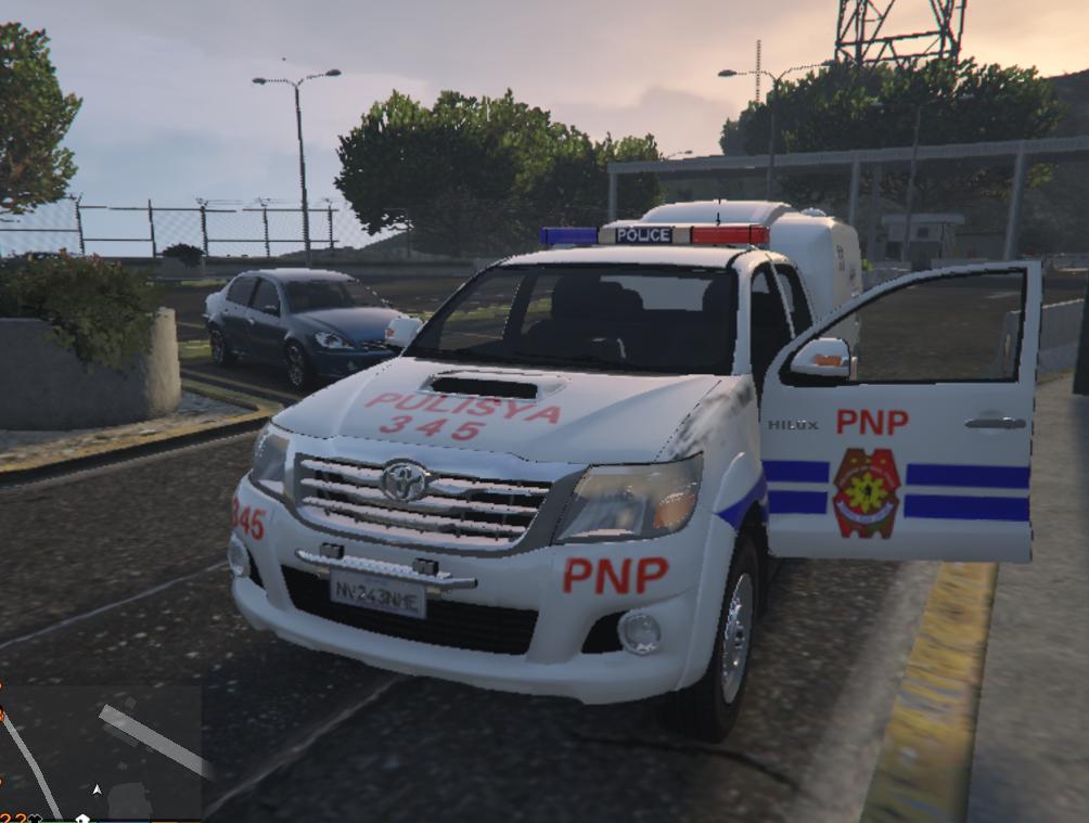 Pulisya Pnp Toyota Hilux Gta5 Mods Com